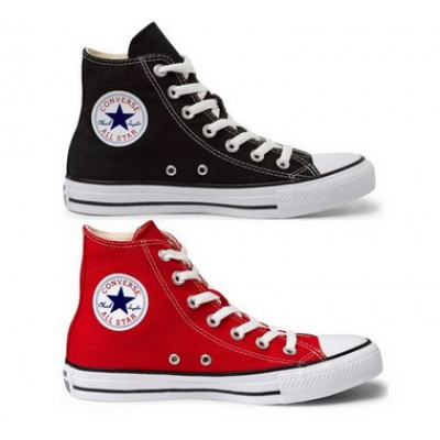 Kit 1 Bota All Star  Vermelho + 1 Bota All Star Preto