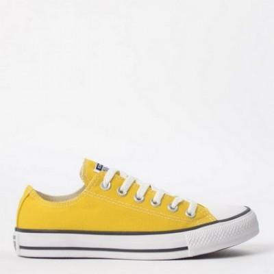 Tênis All Star  Amarelo cano baixo