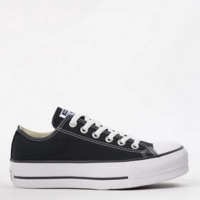 Tênis Plataforma All Star Ox Preto
